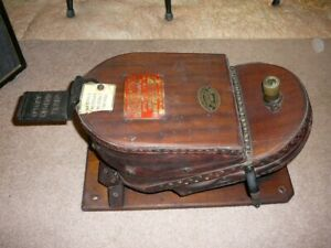 ANTIQUE 1880s - ?  BRITISH Siebe Gorman & Co Air Pump, Fire & Diving, Siren Horn
