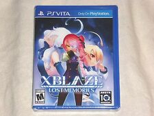 NEW XBlaze Lost Memories PSVITA Game SEALED Playstation Vita x blaze US NTSC