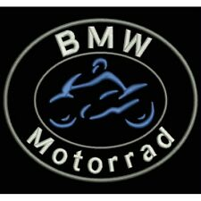 Iron Patch bestickt Patch ricamata parche bordado tipo BMW MOTORRAD (CIRCULAR)