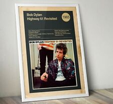 Bob Dylan Album Print, Album cover Art Print, Bob Dylan Wall Art