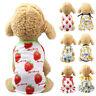 Summer Pet Dog/Cat Clothes Puppy Small Cat Dress Vest T-Shirt  Apparel Costume