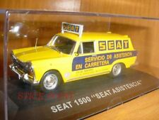 """SEAT 1500 1:43 """"ROAD ASSISTANCE ASISTENCIA"""" MINT"""