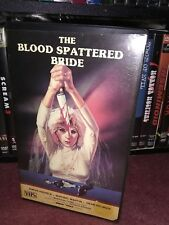 the blood spattered bride vhs Clamshell Uncut Gorgon Video