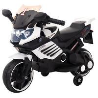 Kinder Elektrofahrzeug Elektro Akku Bike Motorrad mit Stützräder LQ158 Weiß