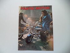 advertising Pubblicità 1973 MOTO FANTIC TI 50/TX-7 TX7 MINI MATIC
