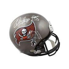 Warren Sapp HOF Autographed Tampa Bay Buccaneers Full-Size Football Helmet JSA