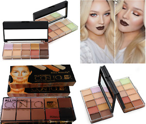 NEW 10 Colour Concealer Palette Contour Makeup Cream, UK Stock