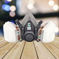 3m 6200 Half Face Gas Mask Respirator Painting Spraying 7 in 1 Suit Kit AU