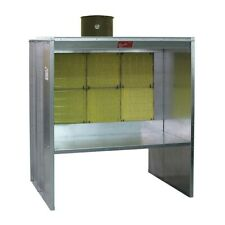 New listing Paasche6′ Shelf Type Spray Booth with Fan, Light and Motor