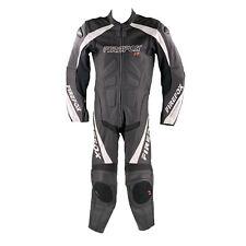 Polo Firefox Lederkombi Gr. 50 Einteiler Motorradkombi Leather Suit Schwarz