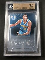 2012 Panini Brilliance STARBURST Anthony Davis Rookie Card RC BGS 9.5 #234