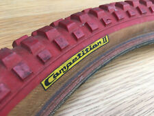 Mitsuboshi Silver Star Yellow Label Comp II BMX Tyre - Red 20 x 2.125