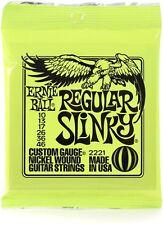 Ernie Ball P02221 Regular Slinky Nickel Wound Set, .010 - .046