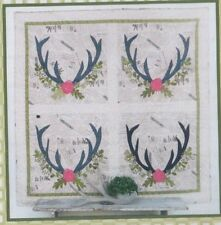 Nature Lover - applique and pieced quilt PATTERN - Sewn Into the Fabric