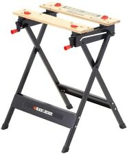 Workmate Sawhorse Vise 350lbs Clamp Sawing Holder Folding Wood Carving Table
