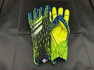 adidas Predator 20 Pro Goalie Gloves Soccer Blue/Yellow US Multiple Sizes HP180