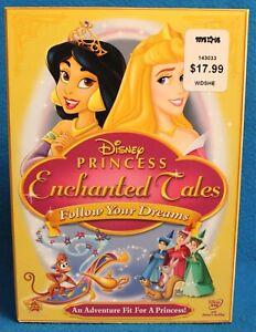 Disney Princess Enchanted Tales DVD Follow Your Dreams - BRAND NEW W/ SLIP COVER