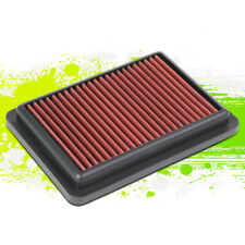Washable High Flow Drop-In Panel Air Filter Red for Honda Fit 1.5L 15-19 16 17