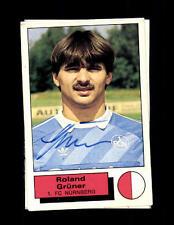 Roland VERDE 1 FC Norimberga PANINI sammelbild 1986 original sign + a 144203