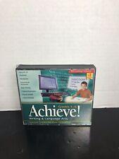 Achieve! Writing & Language Arts Grades 3-6 Software