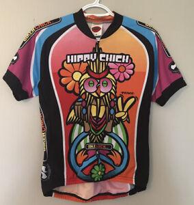 "World Jerseys ""Hippy Chick"" Short Sleeve Cycing Jersey -  Size M"