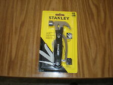 Stanley 11-in-1 Claw Hammer & Stainless Steel Multi Tool Heavy Duty     Lot of 6