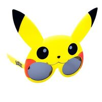 Pokemon Pikachu Lil Character Novelty Costume Party Favors Shades Sun-Staches