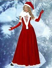 Weihnachtsfrau Kostüm Miss Santa Corsage Rock Weihnachtskostüm Damenkostüm