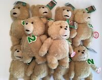 "Ted 2 Movie Talking Plush Stuffed Bear 9"" (Ages 18+) - Lot of 10"