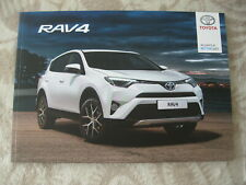 2018 Toyota RAV4 Full Brochure Prospekt 80 pgs 29,5 x 21 cm Big POLISH version