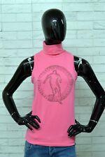 Maglia BIKKEMBERGS Donna Taglia L Polo Camicia Woman Shirt PARI AL NUOVO