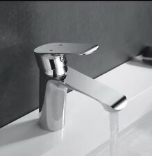 Bathroom Basin Tap Faucet Monobloc Mixer Chrome