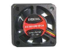EverCool EC3010M12CA 30mm x 30mm x 10mm  Fan, 3Pin
