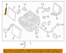 NISSAN OEM 2016 Maxima 3.5L-V6 Evaporator Heater-Filter Cover 272763JC1B