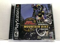 No Fear Downhill Mountain Bike Racing (Sony PlayStation 1, 1999) Complete Tested