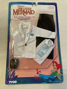 Tyco Disney Little Mermaid Eric's Deluxe Fashion Set Accessory Outfit 1875-8 NIP