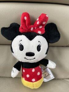 "Disney MINNIE MOUSE Itty Bittys 5"" Plush Stuffed Animal by Hallmark"