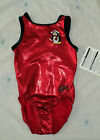 NEW W/Tag GK Elite Red w/Penguin Leotard Size Child S CS Great 4 Gift