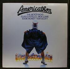 (LP) Americathon - OST / + 19 Press Kit Photos / Elvis Costello / VG+ / VG+