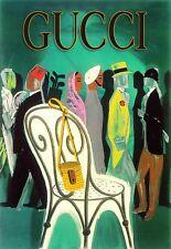 Art Poster Haute Couture  Gucci Deco  Print