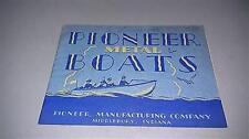 1931 Pioneer Metal Boat Catalog 24 Pages Very Good Condition