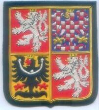 Czechoslovakia Czech Slovak Nation National Crest Seal Arms COA Heraldry Patch