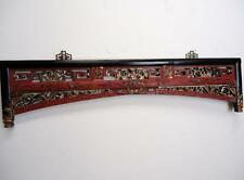 "Asian Chinese Antique Bed Frame,  Wall Panel  39.3/4""W (cc107)"