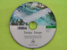 DVD NAVIGATION MERCEDES BENZ COMAND APS 2007 EUROPA CL CLS E S SL SLK GRÜN NTG 1