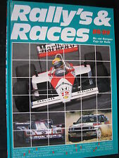 Book Rally's & Races 1988-1989 Door Caju ter Kuile & Ric van Kempen (MCC)
