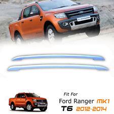 Highlight Silver G18 Roll Roof Bar Rack For Ford Ranger T6 Px XLT 11 12 13 14