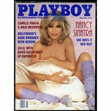 Playboy May 1995 / Nancy Sinatra / Camille Paglia & David Hasselhoff Interviews