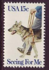 #1787 SEEING EYE DOG. WHOLESALE LOT OF (10) MINT SINGLES F-VF NH!