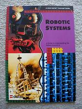 LEGO - Mindstorms - Rare - Robotics Systems Concept Guide - 9780