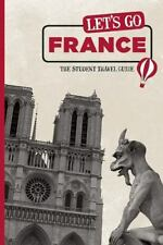 Let's Go France: The Student Travel Guide-ExLibrary